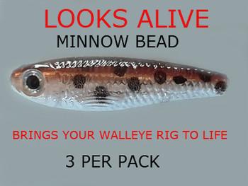Looks Alive Minnow Beads BABY GOBBIE
