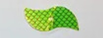 406 blade BIG SKY TACKLE Chartreuse scale