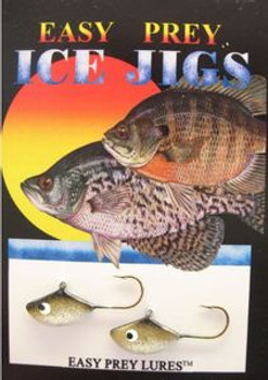 ICE FISHING LURES #6 SUNFISH JIG GOLDFISH/ EASY PREY LURES*