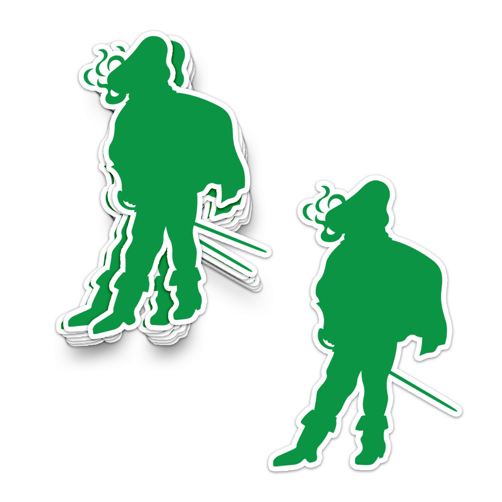Cavaliers Standing Man Sticker