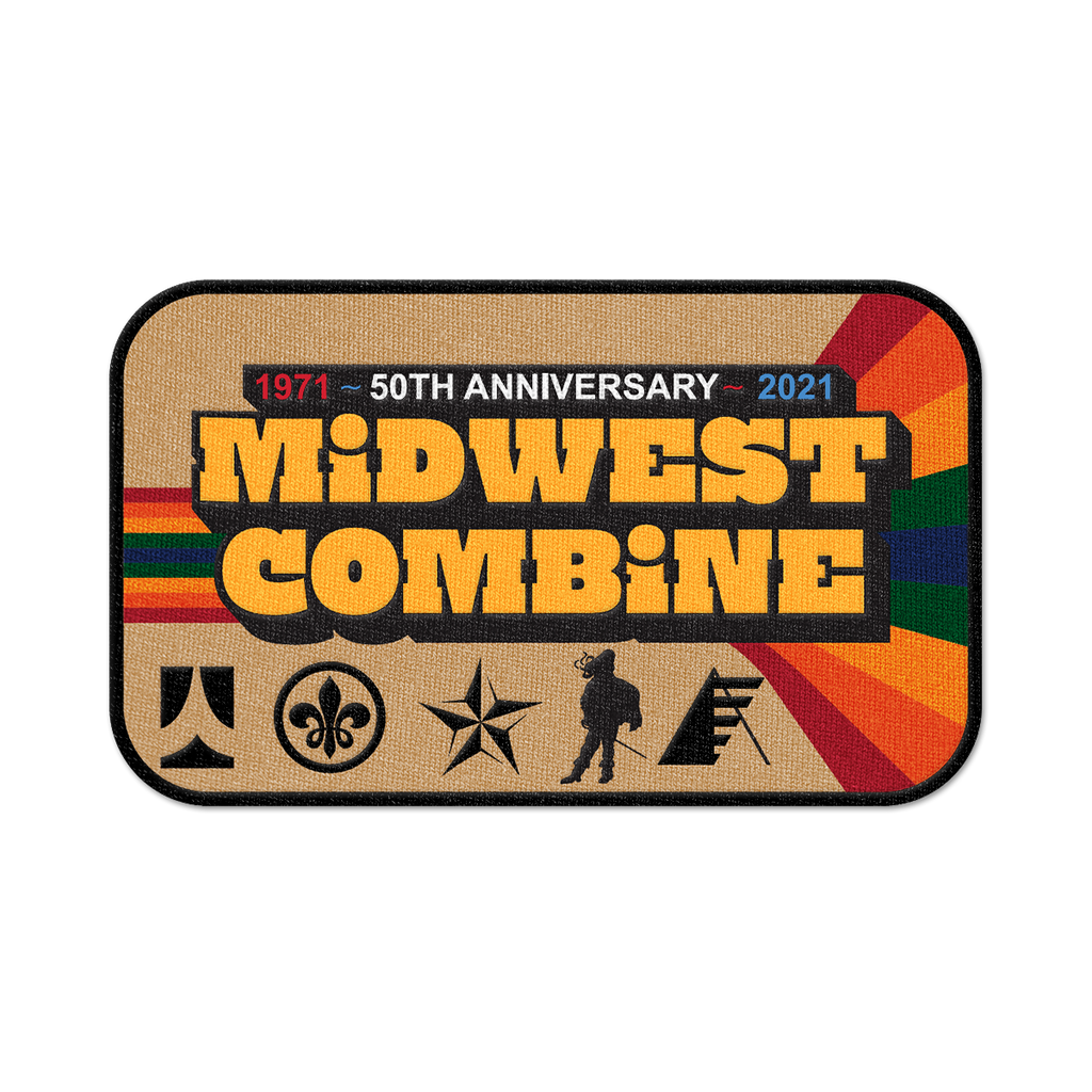 2021 50th Anniversary Cavaliers Midwest Combine Patch