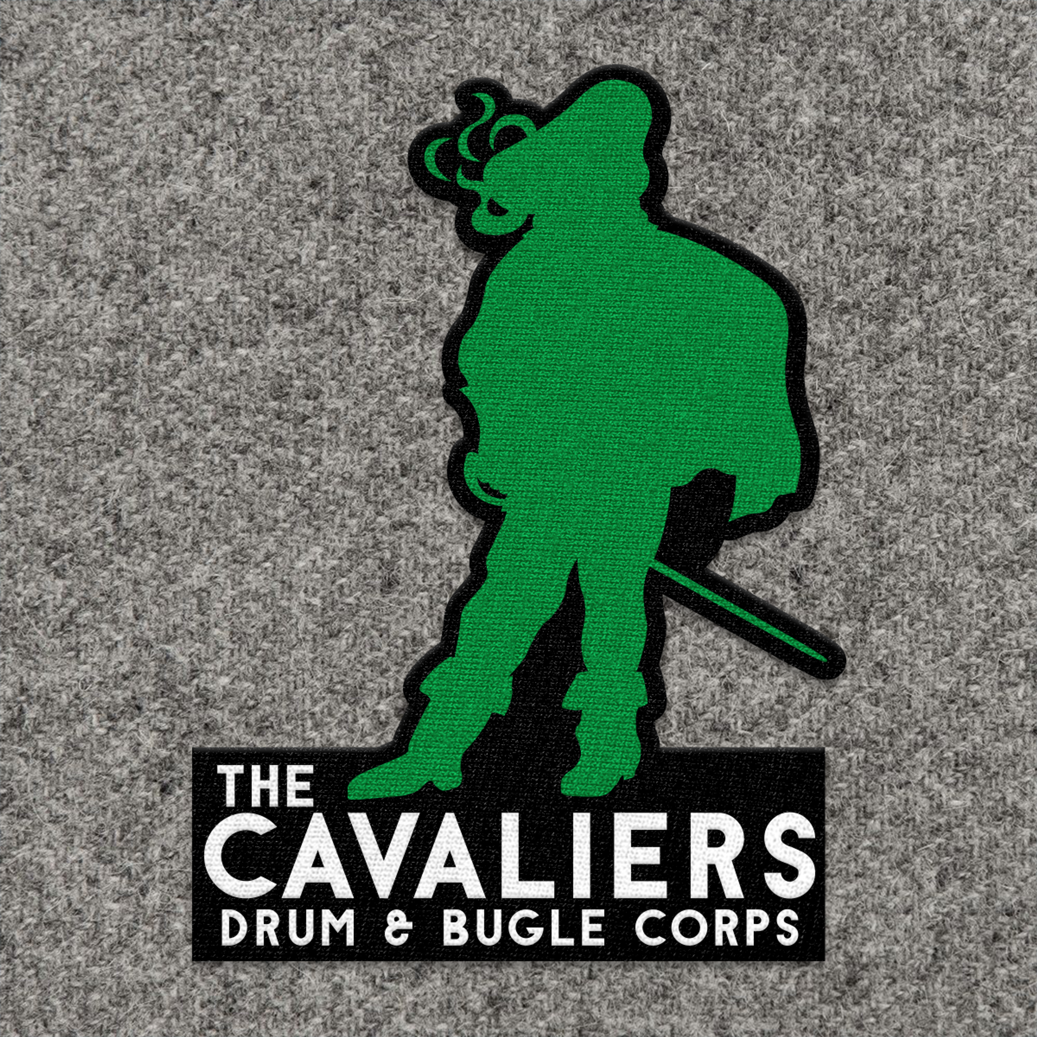 Cavaliers Standing Man Patch