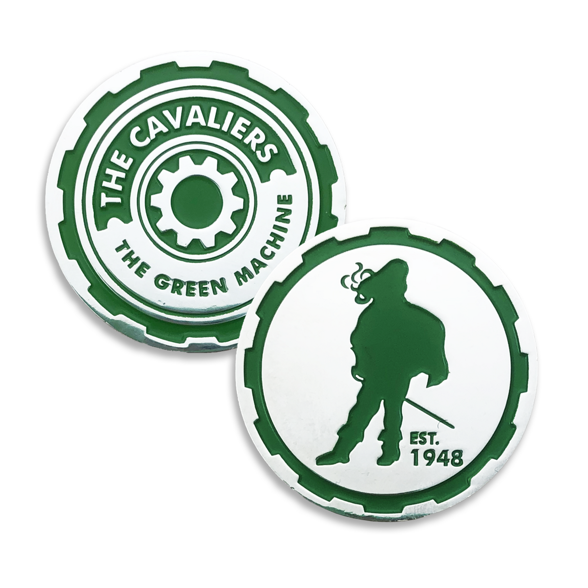 The Cavaliers Challenge Coin