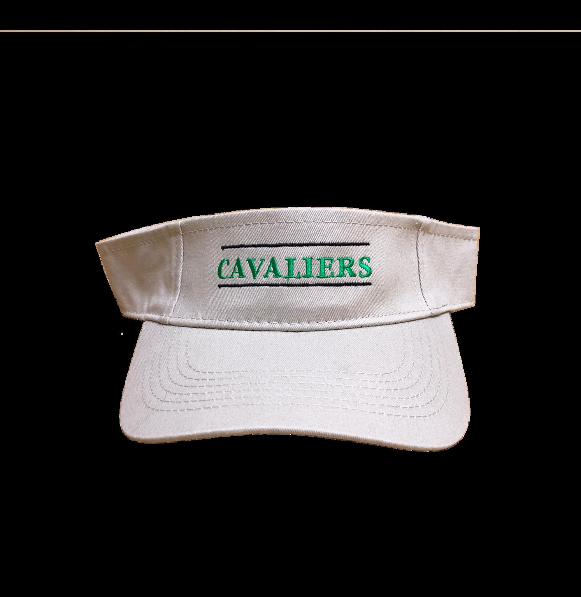 Cavaliers Khaki Visor