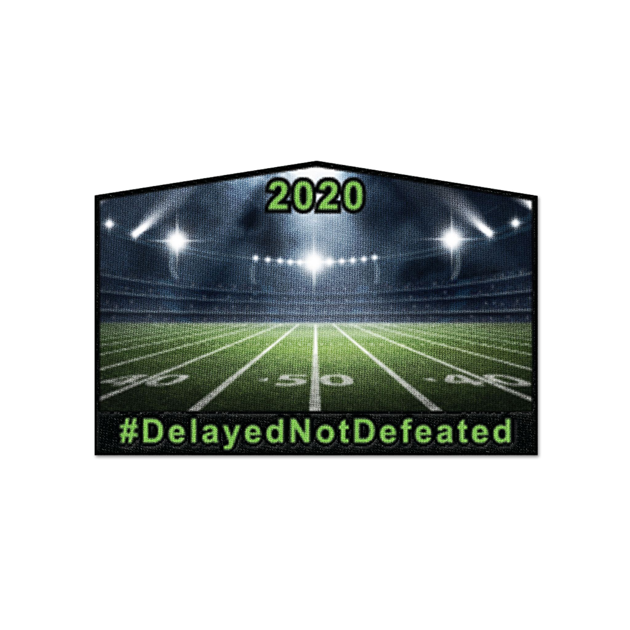 "Limited Edition: Cavaliers ""Delayed Not Defeated"" Patch"