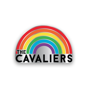 Cavaliers Rainbow Pin