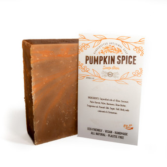 Artisan Hand & Body Soap Bar - Pumpkin Spice