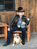 Tanya Tucker with her Cosa Salvaje Tanya Tucker Limited Edition Plata Tequila and dog!