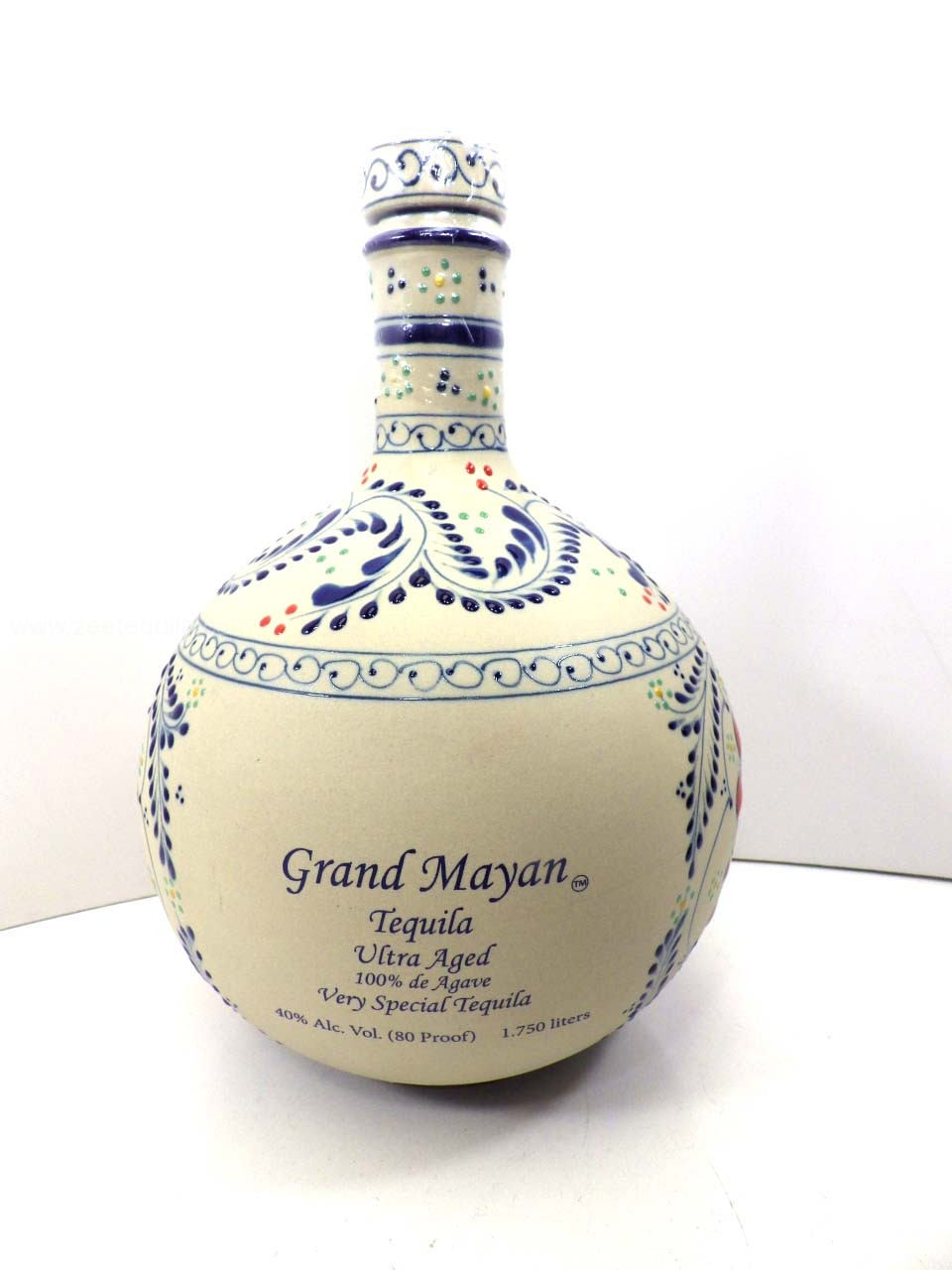 Grand Mayan Reserva Extra Anejo 1 75l 1 2gallon Old Town Tequila