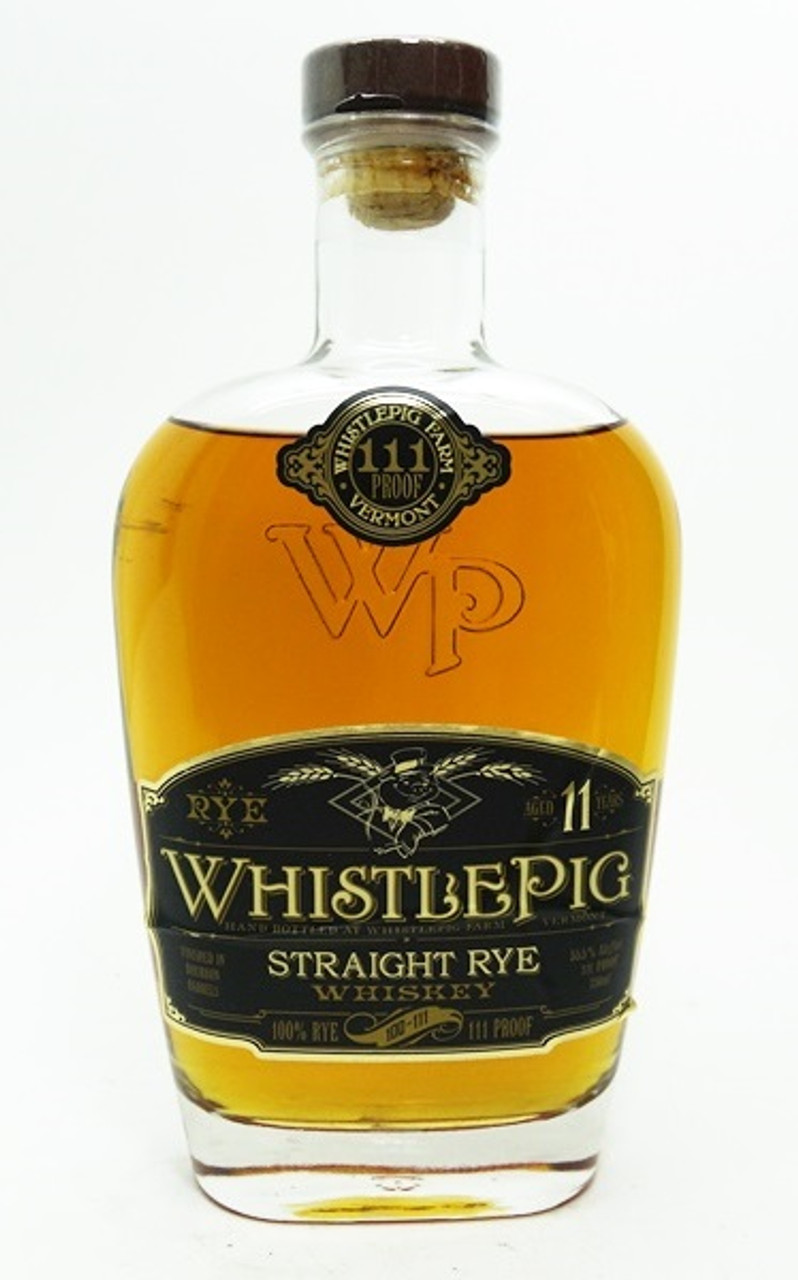 Whistlepig Straight Rye Whiskey 11 Years Old Town Tequila
