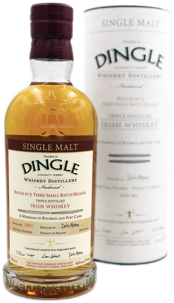 7bbaced7d1 Dingle Single Malt Irish Whiskey - Old Town Tequila