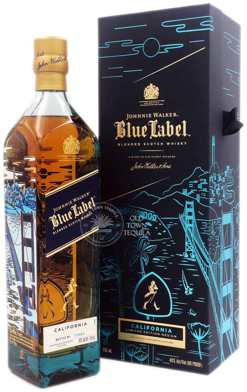 This is a graphic of Monster Johnnie Walker Blue Label Madrid Edition