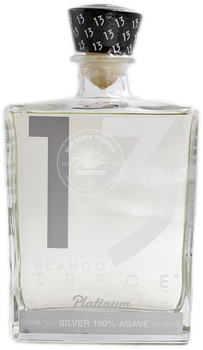 Trece Platinum Tequila Blanco 750ml
