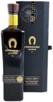 Herradura Legend Tequila Añejo Barril Acanalado 750ml