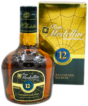 Ron Medellin Gran Reserva 12 Year Old Rum 750ml