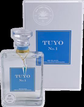 Tuyo No.1 Tequila Blanco Cristalino 375ml
