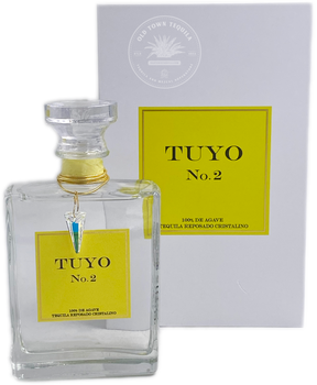 Tuyo No.2 Tequila Reposado Cristalino 375ml