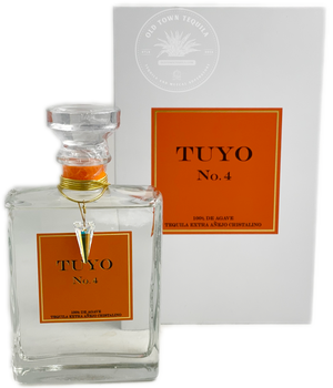Tuyo No.4 Tequila Extra Añejo Cristalino 375ml