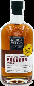 Spirit Works Four Grain Straight Bourbon Whiskey 750ml