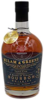 Milam & Greene Triple Cask Straight Bourbon Whiskey 750ml