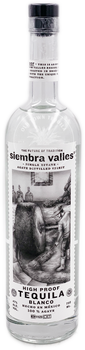 Siembra Valles High Proof Tequila Blanco 750ml