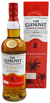 The Glenlivet Caribbean Reserve Single Malt Scotch Whisky
