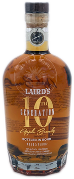 Laird's 10th Generation Apple Brandy 750ml