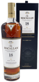 The Macallan Highland Single Malt Scotch Whisky Aged 18 Years