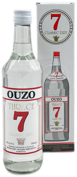 Thrace 7 Ouzo 750ml