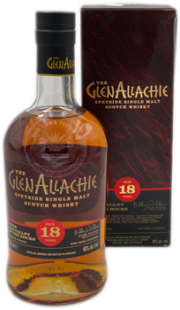 The GlenAllachie Speyside Single Malt Scotch Whisky Aged 18 Years