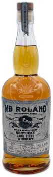 MB Roland Kentucky Dark Fired Whiskey 750ml