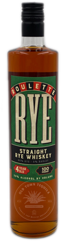 Roulette Straight Rye Whiskey Aged 4 Years 750ml