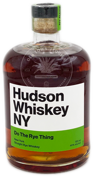 Hudson Do The Rye Thing New York Straight Rye Whiskey 750ml