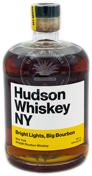 Hudson Bright Lights, Big Bourbon New York Straight Bourbon Whiskey