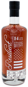Resilient Straight Bourbon Whisky Aged 14 Years 750ml