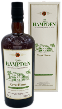 The Hampden Great House Old Single Jamaican Rum Distillery Edition 2020