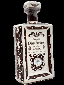 Dos Artes Anejo Tequila Art bottle 1 Liter