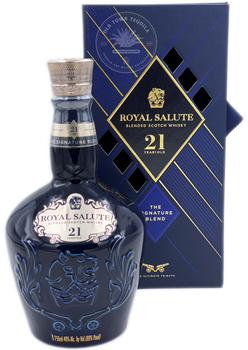 Royal Salute Blended Scotch Whisky 21 Years Old The Ultimate Tribute