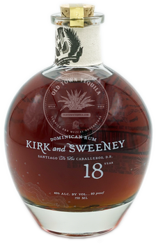 Kirk and Sweeney Dominican Rum 18 Year 750ml