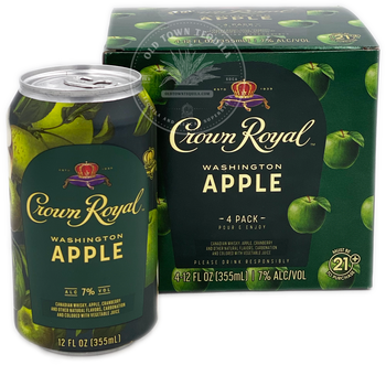 Crown Royal Washington Apple Whisky 4 Pack