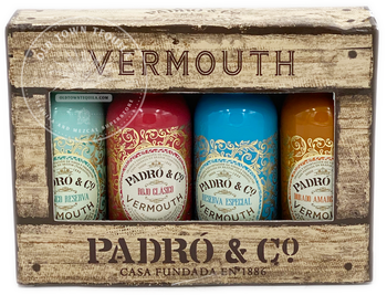 Vermouth Padró & Co. Variety Pack 4x50ml