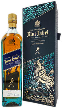 Johnnie Walker Blue Label Year of the Ox Limited Edition Scotch Whisky