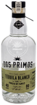 Dos Primos Tequila Blanco 750ml