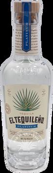 El Tequileño Platinum Blanco Tequila 375ml