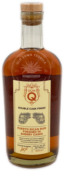 Don Q Double Cask Finish Rum 750ml