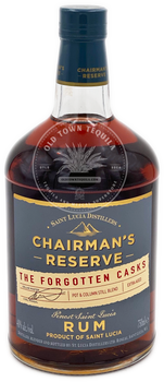 Chairman's Reserve Rum The Forgotten Casks 750ml