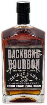 Backbone Bourbon Anniversary Edition Decade Down Straight Bourbon Whiskey