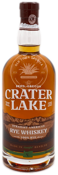 Crater Lake Straight American Rye Whiskey 750ml