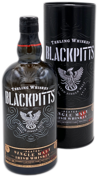 Teeling Whiskey Blackpitts Peated Single Malt Irish Whiskey 750ml