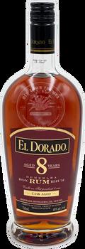 El Dorado Demerara Rum Cask Aged 8 Years 750ml